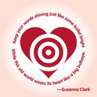 Susanna Clark Quote Lyric Poster