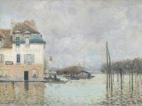 The Flood at Port Marly, 1876