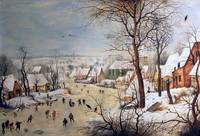 Winter Landscape with Birdtrap, 1601