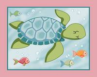 Under the Sea - Sea Turtle