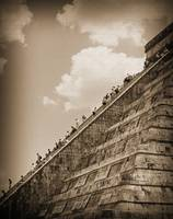 Walking Up The Pyramid by Kirt Tisdale
