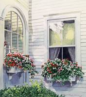 NORMAN ROCKWELLS WINDOW BOXES