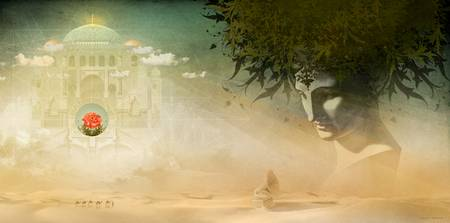 Desolation Rose - Gatefold Illustration