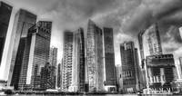 Black and White Series - Cityscape Singapore 2013