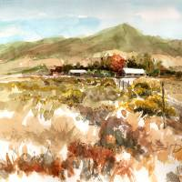 """""""Tehachapi Ranch350ppi"""" by WilliamDunn"""