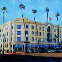 """Grand Colonial Hotel La Jolla"" by RDRiccoboni"