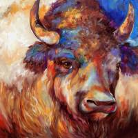 THE WISE ONE BUFFALO by Marcia Baldwin