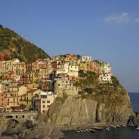 """""""Coastal Village of Manarola in Cinque Terre"""" by petrsvarc"""