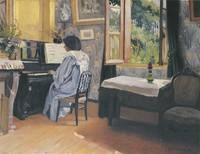Woman at the Piano (Madame Vallotton)