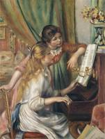 Young Girls at the Piano (1892)