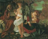 Rest on the Flight into Egypt (c. 1596–97)