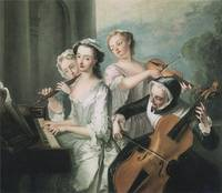 The Five Senses: The Sense of Hearing (c. 1750)