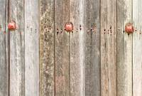 Railroad Wood Texture and Red Bolts