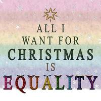 All I want for Christmas is Equality