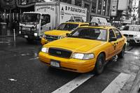 Yellow Taxi Color Pop