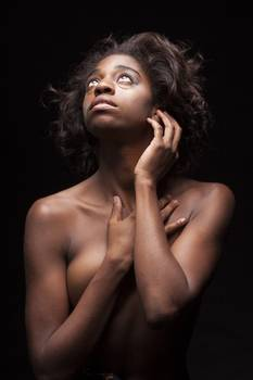 Life. African nude photography rather