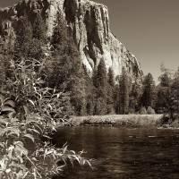 El Capitan and Merced River Art Prints & Posters by Jim Lipschutz