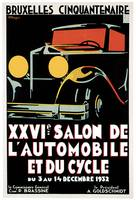 Vintage Classic Automotive Poster #4