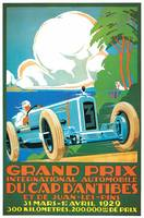 Vintage Classic Automotive Poster #1