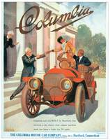 Vintage Classic Automotive Poster #2