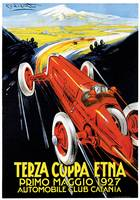 Vintage Classic Automotive Poster #8