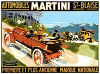 Vintage Classic Automotive Poster #6