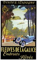 Vintage Classic Automotive Poster #15