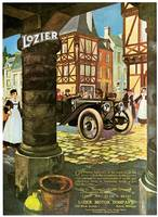 Vintage Classic Automotive Poster #14