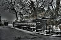 Brooklyn Heights Winter Scene