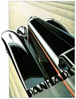 Vintage Classic Automotive Poster #21