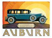Vintage Classic Automotive Poster #22