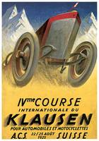 Vintage Classic Automotive Poster #24
