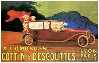 Vintage Classic Automotive Poster #28