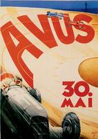 Vintage Classic Automotive Poster #38
