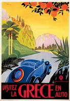 Vintage Classic Automotive Poster #87