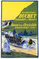 Vintage Classic Automotive Poster #92