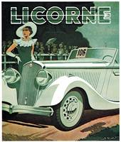 Vintage Classic Automotive Poster #90