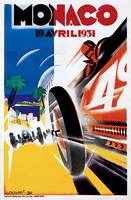 Vintage Classic Automotive Poster #100