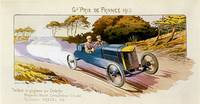 Vintage Classic Automotive Poster #106