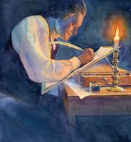 Thomas Jefferson writing