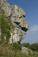 face in the rocks