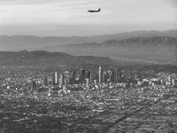 Aerial of Downtown Los Angeles