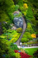 Butchart Gardens Stairs