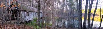 Cambron Bridge Wide Green Mountain Nature Trail