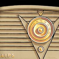 Phillips Radio- tan