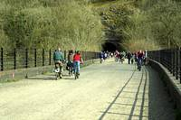 Monsal Trail Over the Headstone Viaduct (36321-RDA