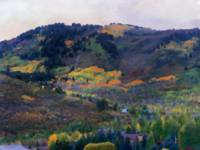 Park City Mountainside in Fall