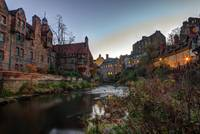 Dean Village Sunrise, Edinburgh