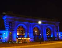 Union Station on a Holiday Night
