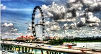 Singapore Flyer - Urban Landscape Singapore